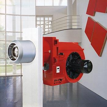 Quemadores Weishaupt monarch® 1 a 11 (hasta 4.750 kW)