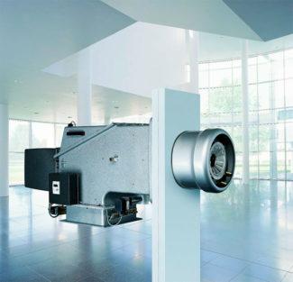 Quemadores digitales Weishaupt disociados WK (hasta 28.000 kW)