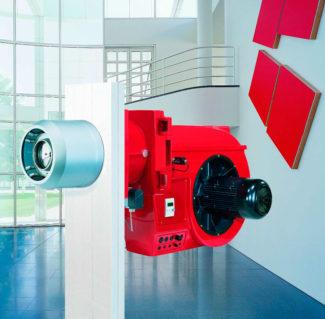 Quemadores digitales Weishaupt 30-70 (hasta 11.700 kW)