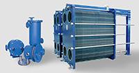 Sistemas de permuta térmica e recuperação de energia água/água Sedical
