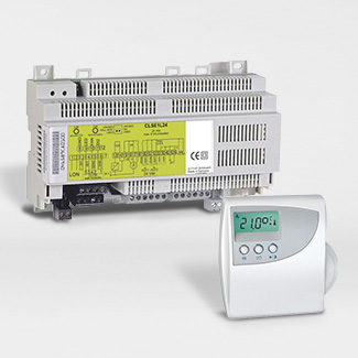 Controlo individual de recintos com comunicação CENTRA 10