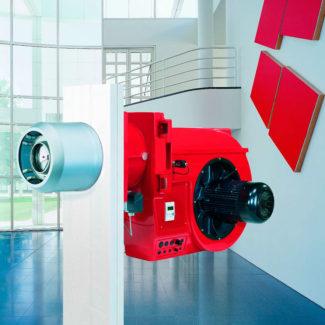 Quemadores industriales Weishaupt 30 a 70 (hasta 11.700 kW)
