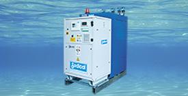 SediREC® sistema de recuperación de alta eficiencia del calor del agua de renovación de piscinas