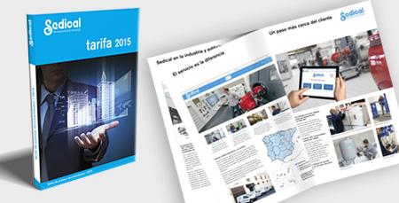 Sedical presenta la nueva Tarifa 2015
