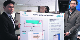 Zumarraga aprovechará el calor del agua retirada de la piscina, el sistema SediREC® transferirá ese calor al agua entrante y se ahorrarán 1.500 euros al mes