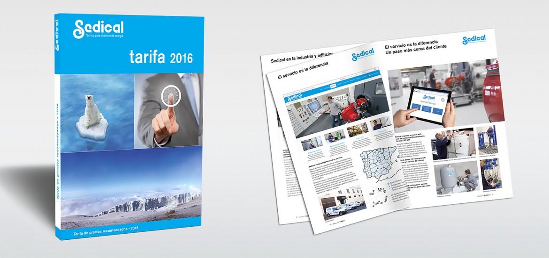 Sedical Presenta La Nueva Tarifa 2016 Sedical