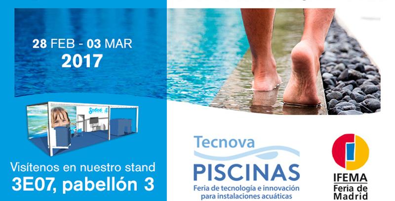 Sedical, presenta en TECNOVA PISCINAS – Stand 3E07: Sistemas para el ahorro de energía en el calentamiento de agua y aire de las piscinas cubiertas