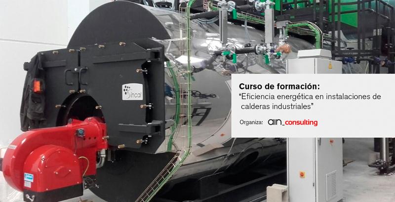 Eficiencia energética en instalaciones de calderas industriales – Curso de formación