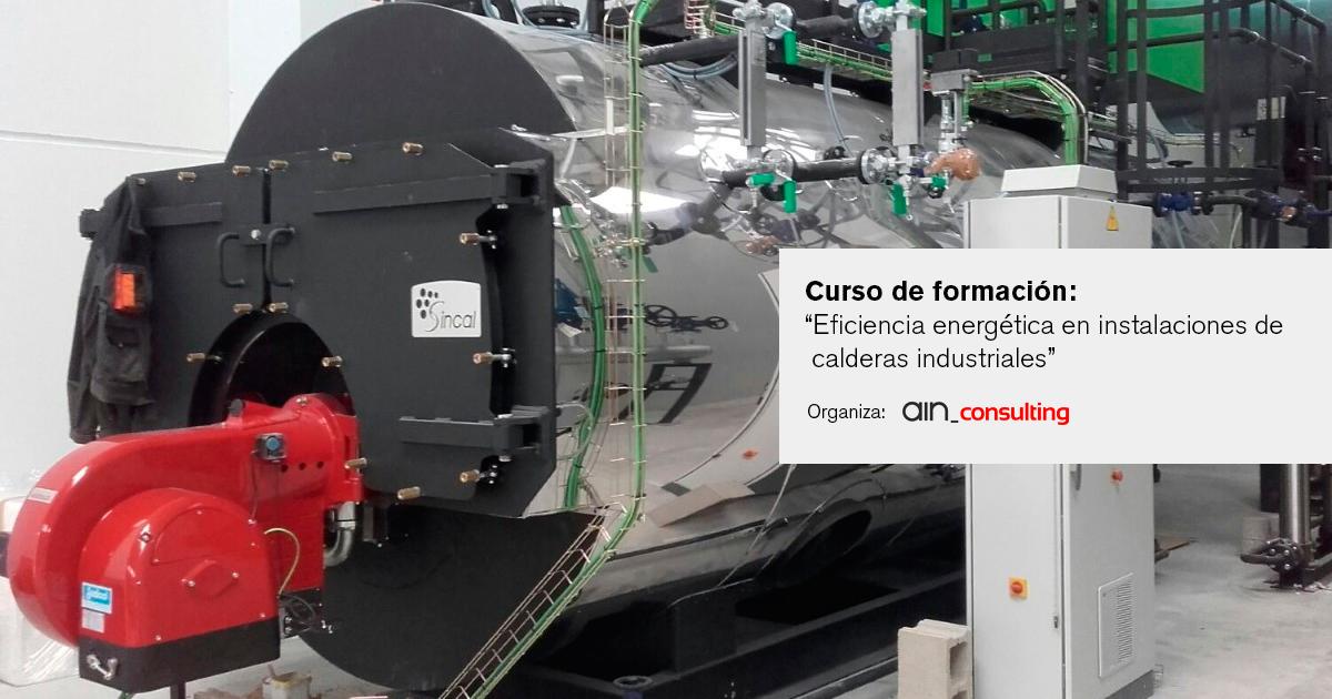 Eficiencia energética en instalaciones industriales de calderas