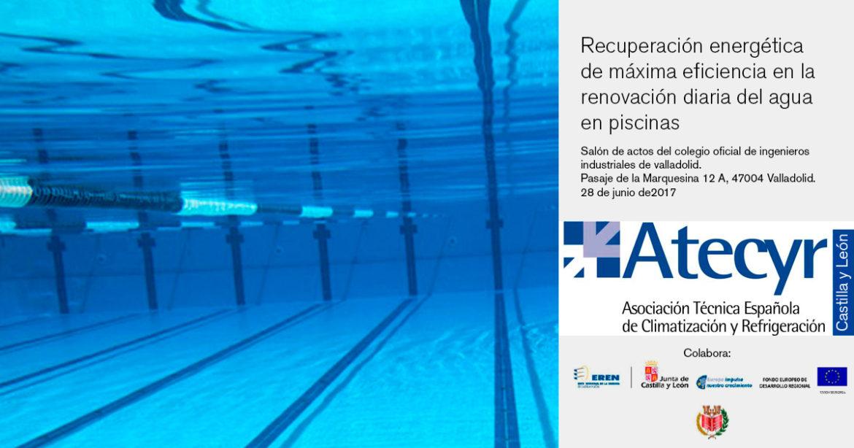 Recuperación energética de máxima eficiencia en la renovación diaria del agua de piscinas climatizadas