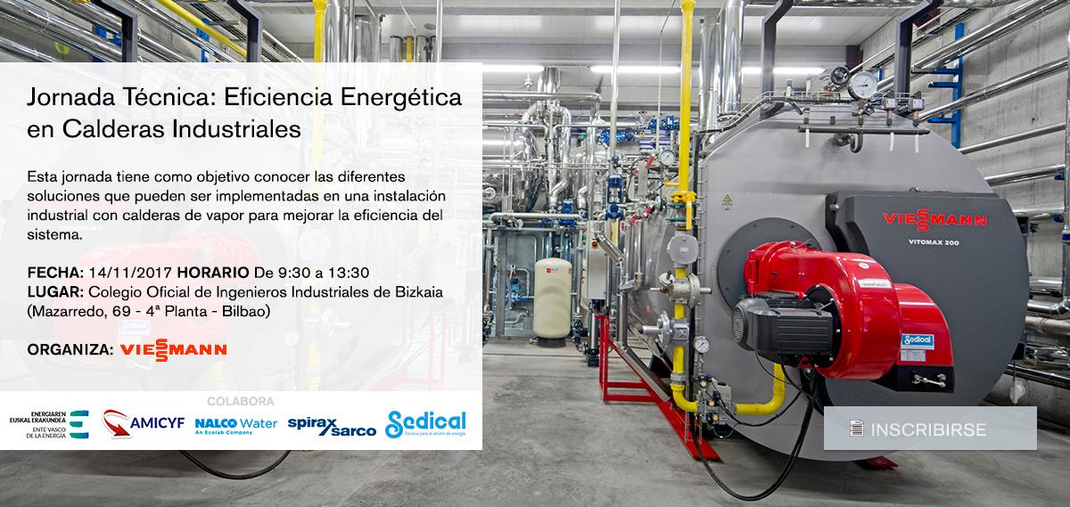 Jornada Técnica: Eficiencia Energética en Calderas Industriales