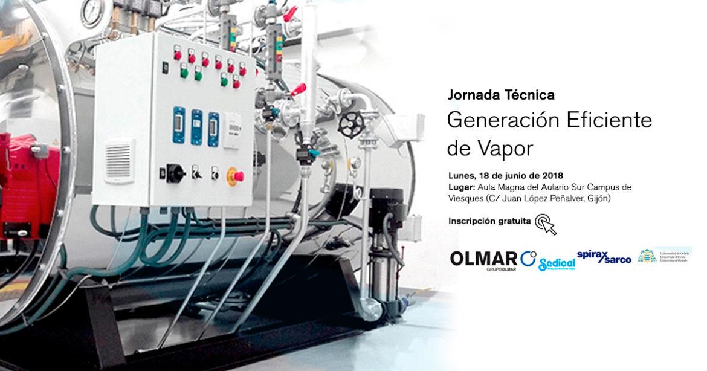 Generación eficiente de vapor en aplicaciones industriales