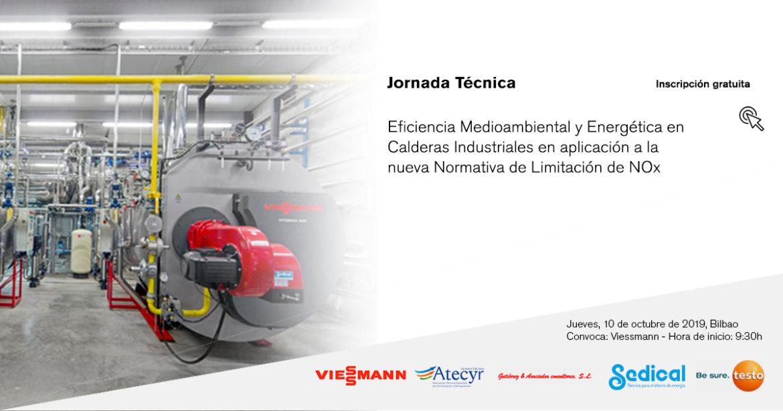 Eficiencia Medioambiental y Energética en Calderas Industriales en aplicación a la nueva Normativa de Limitación de NOx