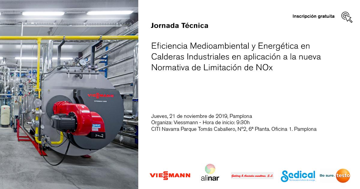 Jornada eficiencia medioambiental calderas industriales