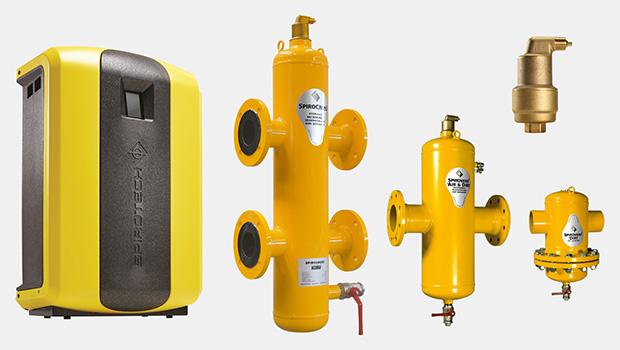 Sistemas de desgasificación, eliminación de lodos y compensación hidráulica